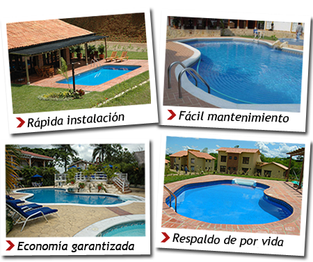 American pools piscinas americanas piscinas for Instalacion de piscina